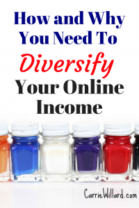 Why you need to diversify your income online and how to protect yourself from the changing internet!