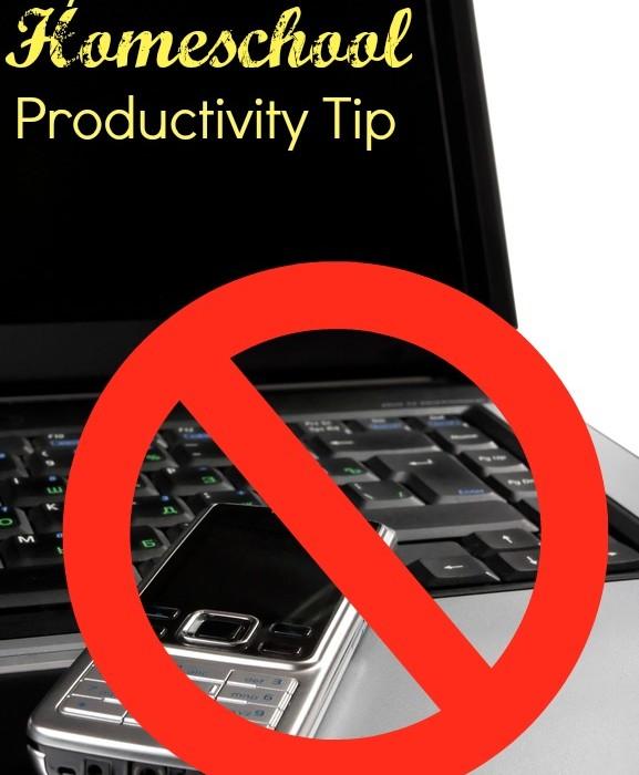 #1 homeschooling productivity tip