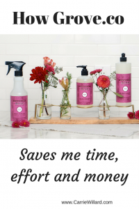 How Grove.co saves me time, hassle and money on needed household and personal care items