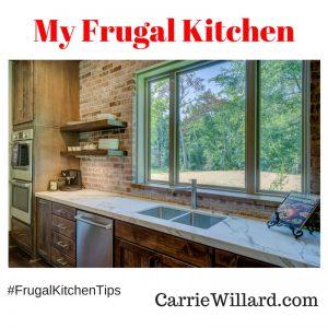 frugal kitchen tips