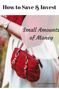 How to Save (and Invest!) Small Amounts of Money