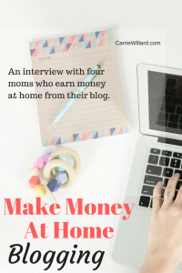 How to make Money at Home Blogging