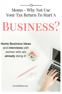 Use Your Tax Return To Start A Home Business