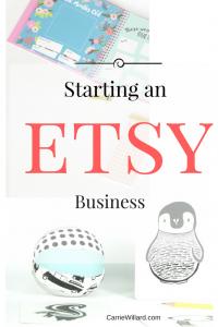 Start an Etsy Business