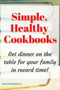 Simple Healthy Cookbooks