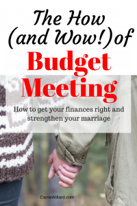 The How (and Wow!) Of Budget Meeting
